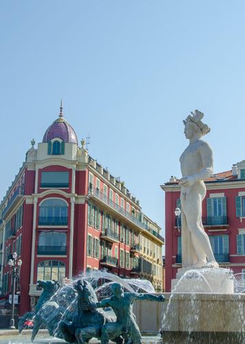 Nice, square Massena